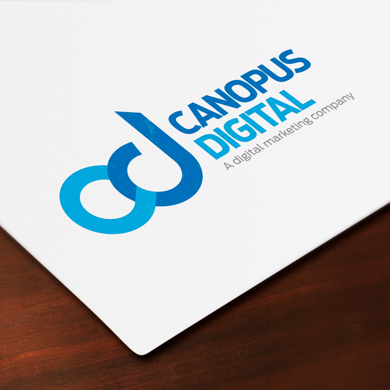 Canopus Digital Logo Design by Experience Foundry